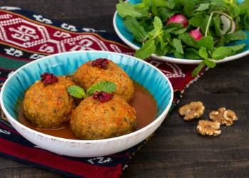 Koofteh tabrizi iranian food