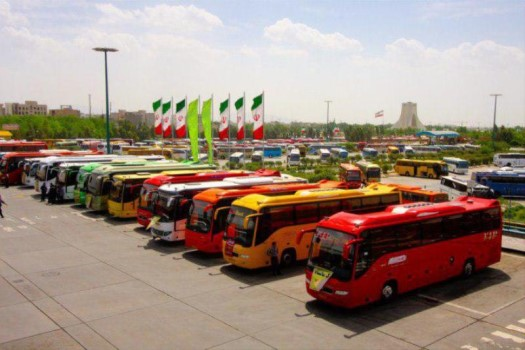 public transporation in iran