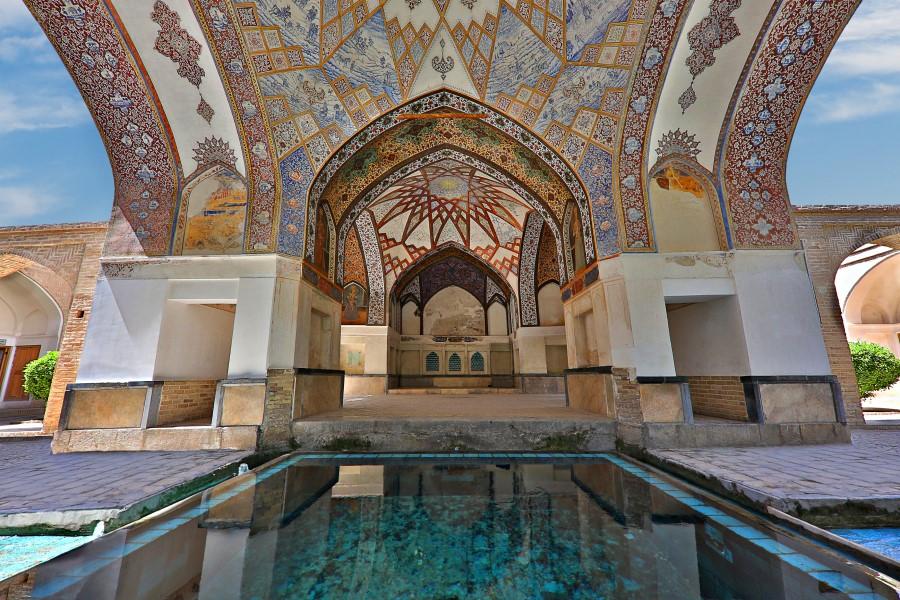 Fin Bathhouse Garden, Kashan - Exotigo