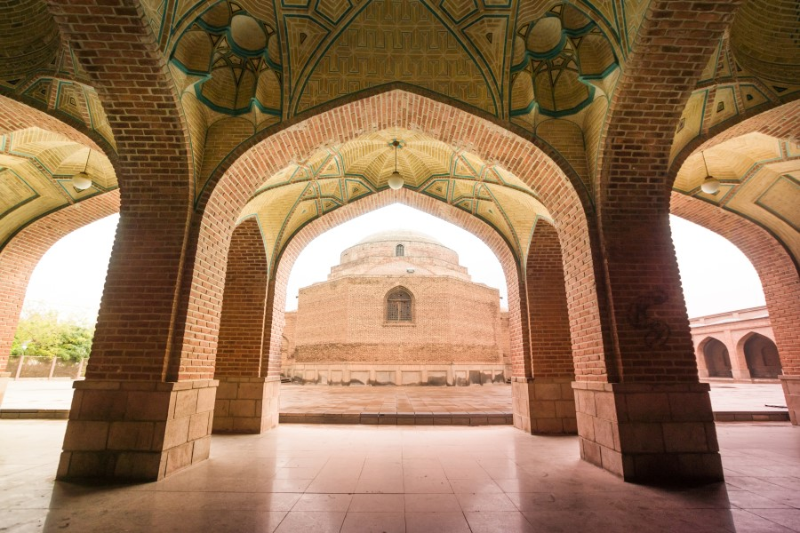 Kabood Mosque Tabriz - Blue Mosque - Exotigo