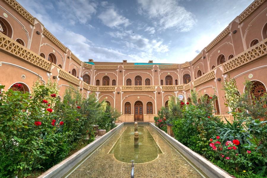 Moshir Caravanserai Yazd Iran - Exotigo