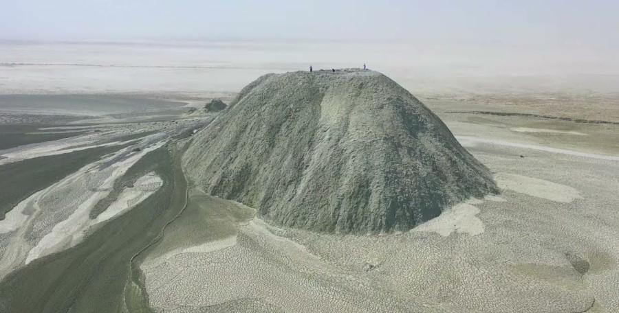 Mud Volcano Chabahar, Iran - Exotigo