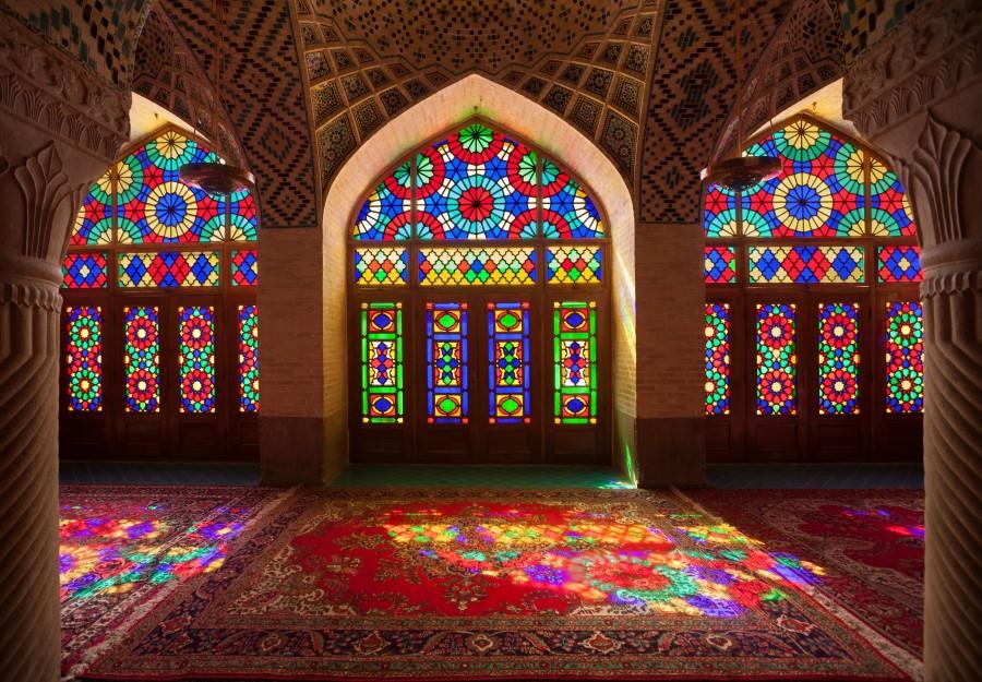 Nasir al-Mulk Mosque Shiraz - Pink Mosque - Exotigo