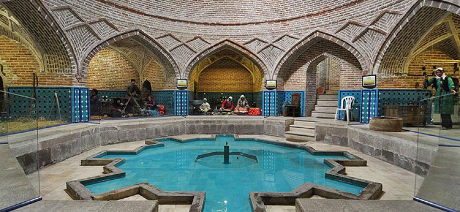 Qajar Bathhouse, Qazvin - Exotigo