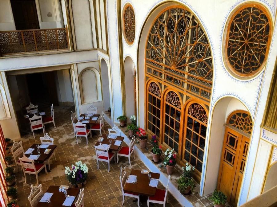 Saraye Ameriha Restaurant, Kashan Iran - Exotigo