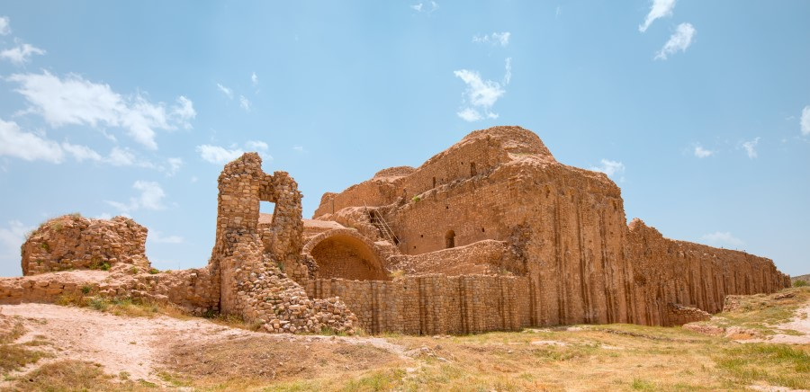 Ardashir Palace, Sassanid Archaeological Landscape, UNESCO World Heritage Sites in Iran - Exotigo
