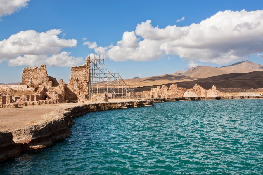 Takht-e Soleyman, UNESCO World Heritage Sites in Iran