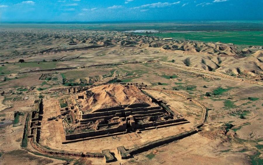 Ziggurat of Chogha Zanbil, UNESCO World Heritage Sites in Iran