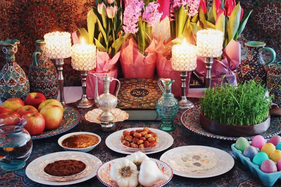 Nowruz-Persian New Year-Haft Seen Table -Exotigo